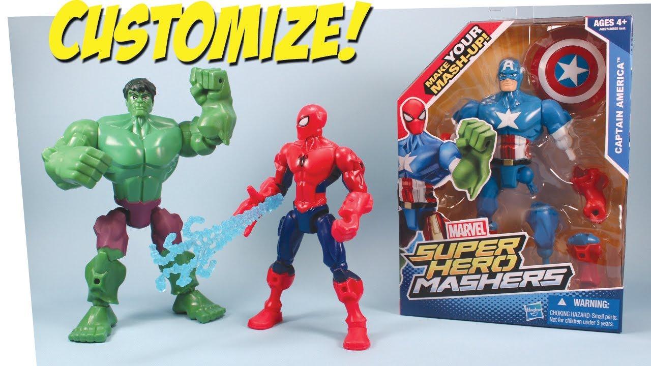 super heros mashers