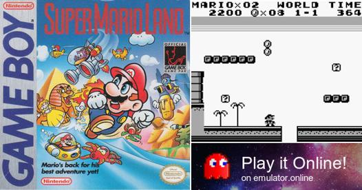 super mario land en ligne