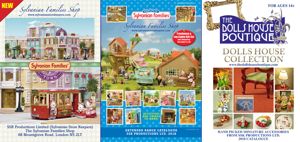 sylvanian families catalogue