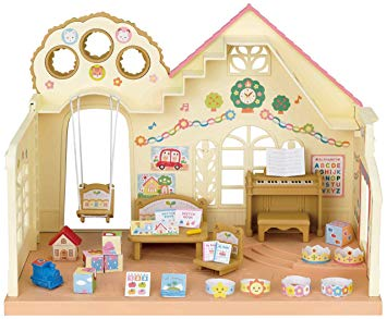 sylvanian families nursery school
