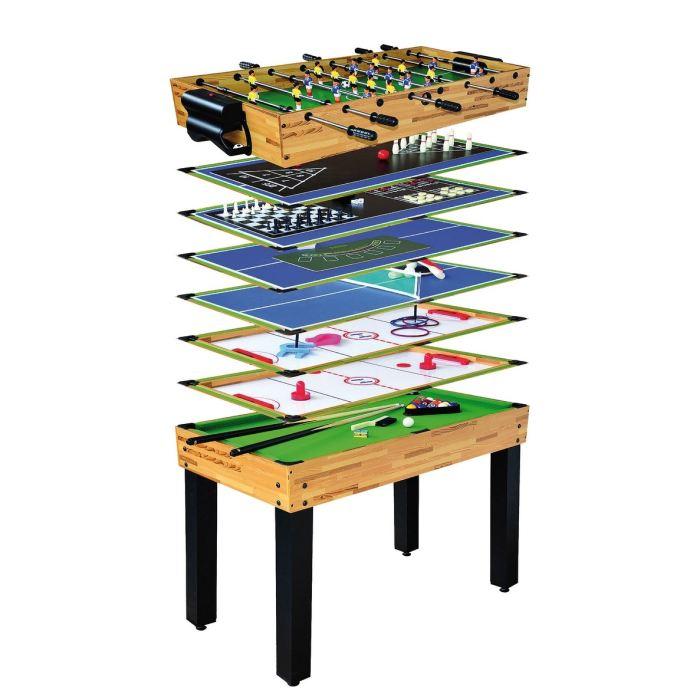 table de jeux 12 en 1