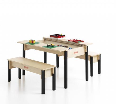 table enfant avec rangement