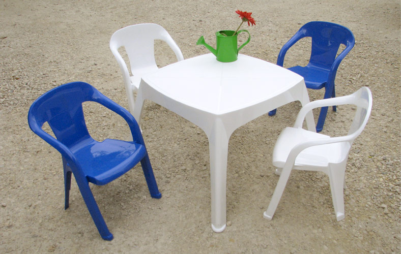 table et chaise de jardin pour enfant