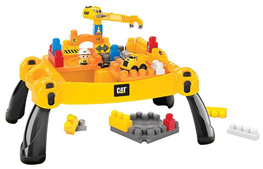 table mega bloks caterpillar