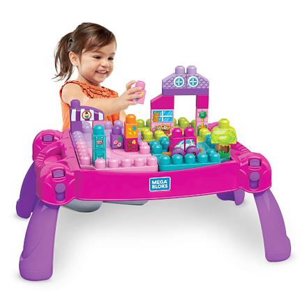 table mega bloks rose