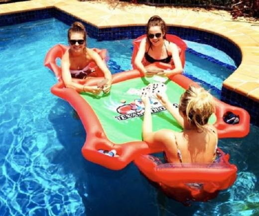 table poker piscine