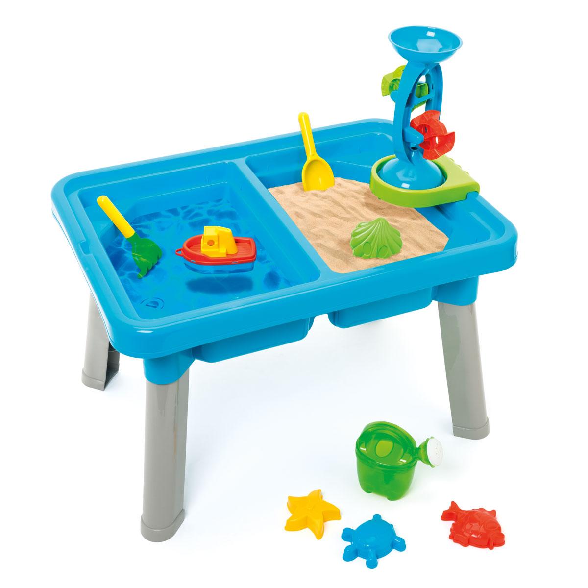 table sable et eau