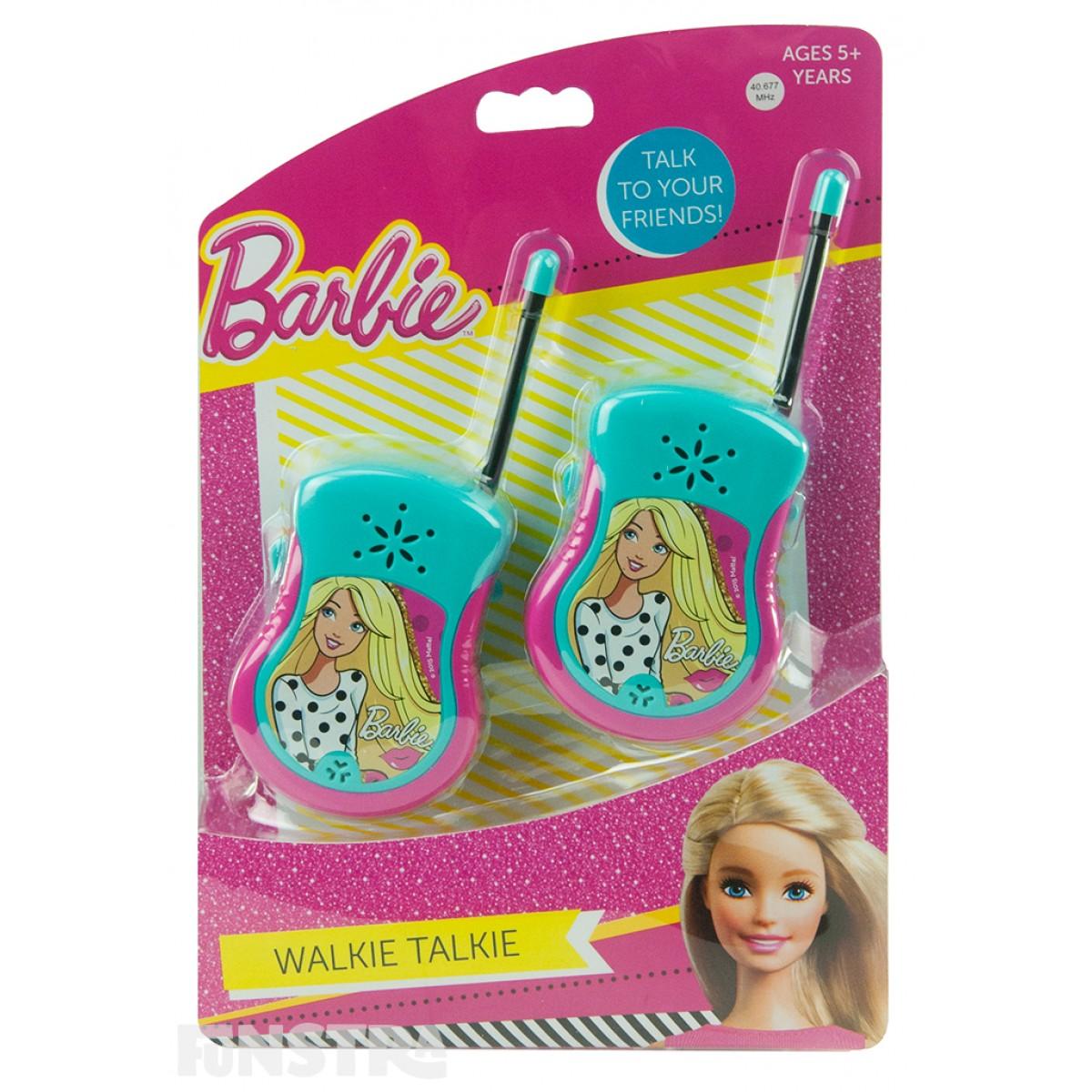 talkie walkie barbie