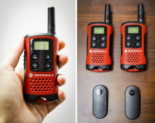 talkie walkie motorola t40