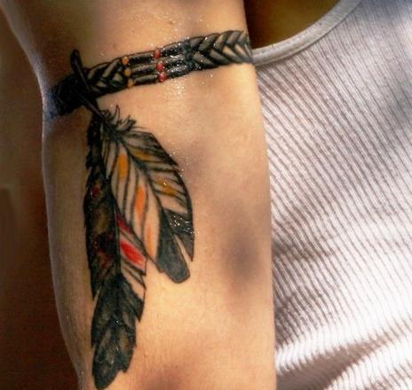 tatouage bracelet indien