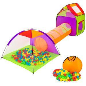 tente avec tunnel jouet