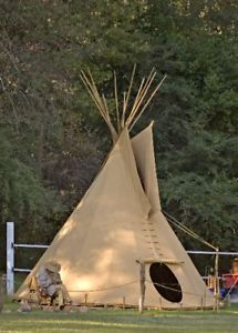tente indienne tipi