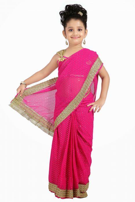 tenue indienne fille