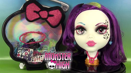 tete a coiffer monster high