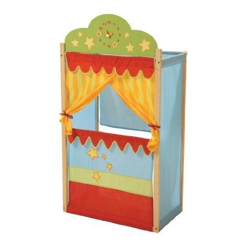 theatre marionnette bois