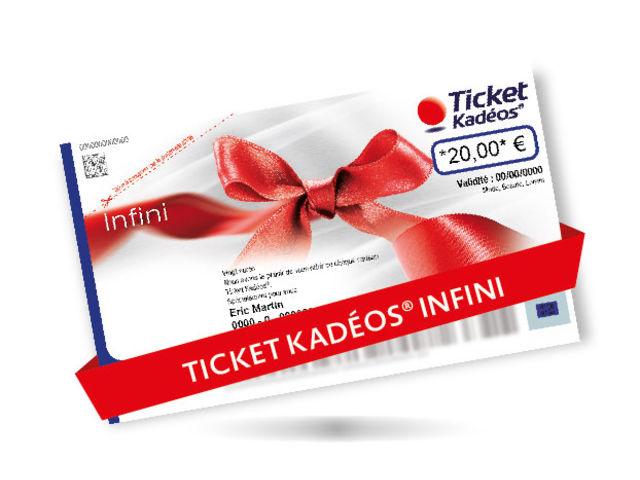 ticket cadeau infini