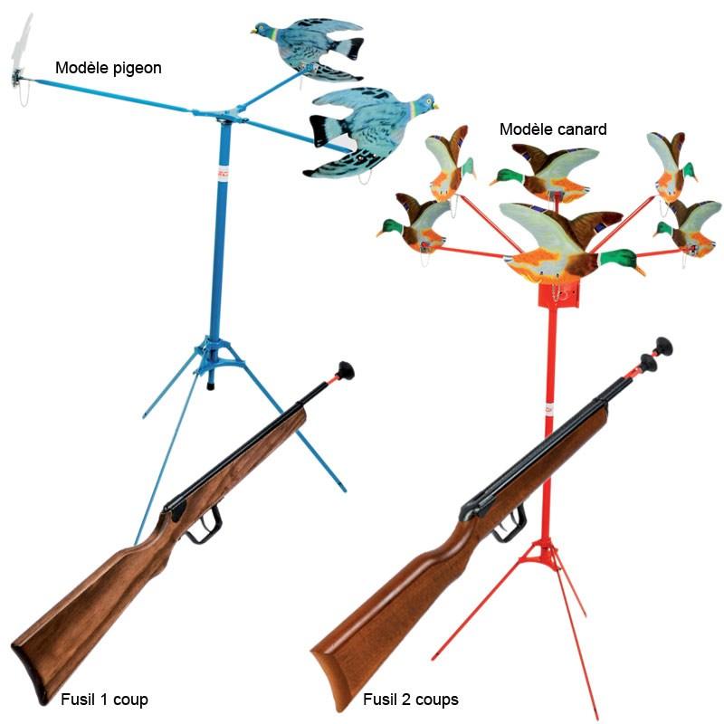 tir aux pigeons enfant