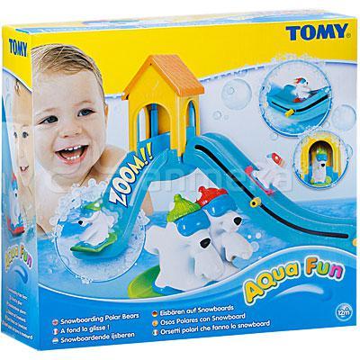tomy a fond la glisse