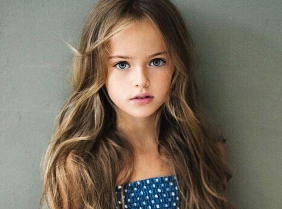 top model pour petite fille