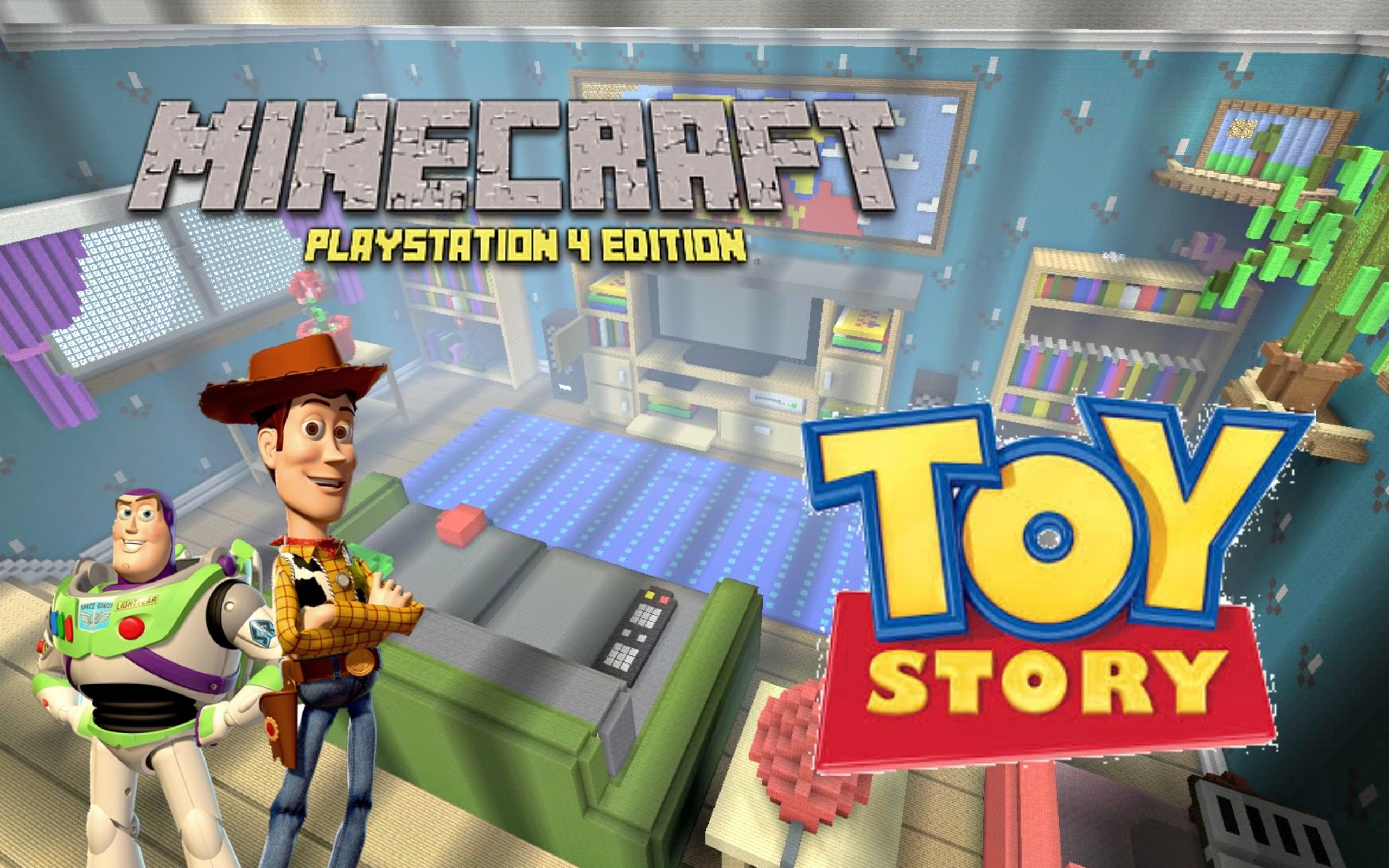 toy story sur minecraft