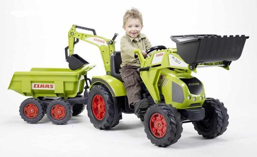 tracteur a pedale enfant