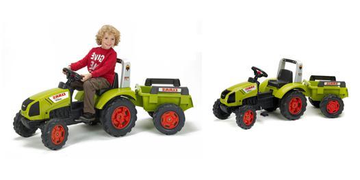 tracteur a pedale falk