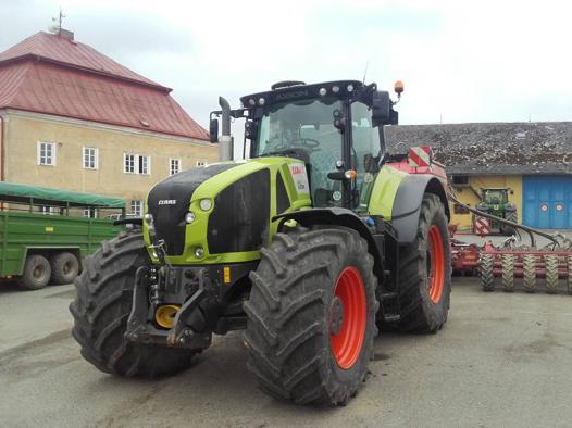 tracteur claas 950