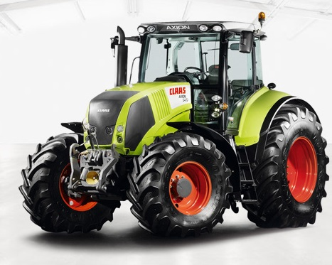 tracteur claas axion