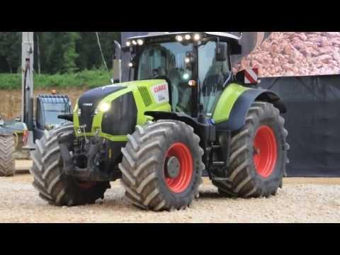 tracteur claas youtube