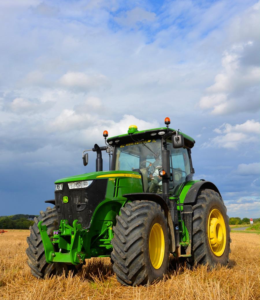 tracteur john