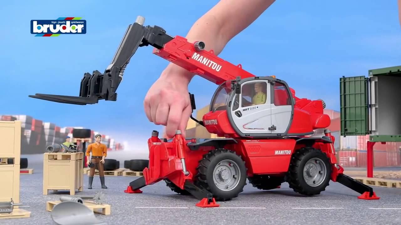 tracteur jouet bruder