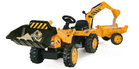 tracteur pelle