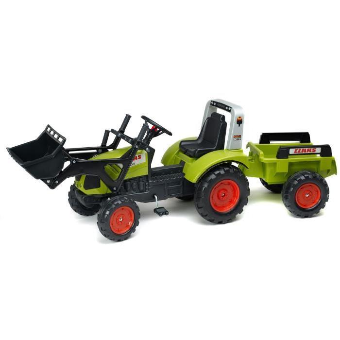 tracteur remorque a pedale
