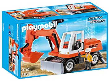 tractopelle playmobil