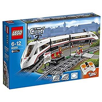 train de passager lego city