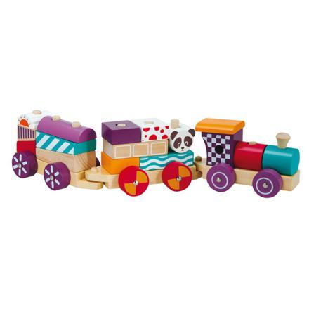 train en bois jouet