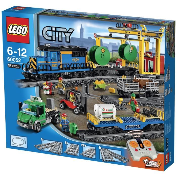 train marchandise lego city