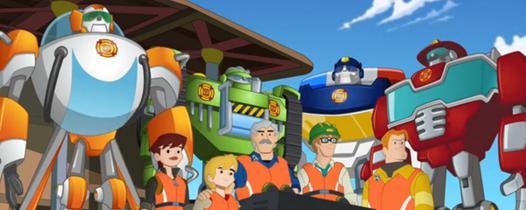 transformers rescue bots cast