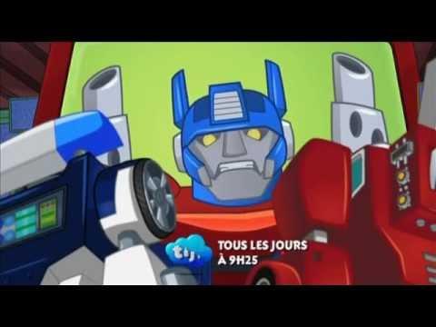 transformers rescue bots en français