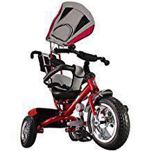 tricycle avec roues en caoutchouc