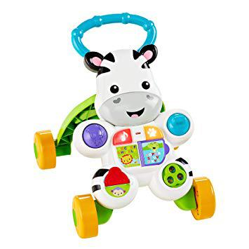 trotteur zebre fisher price