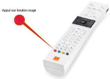 tv commande orange
