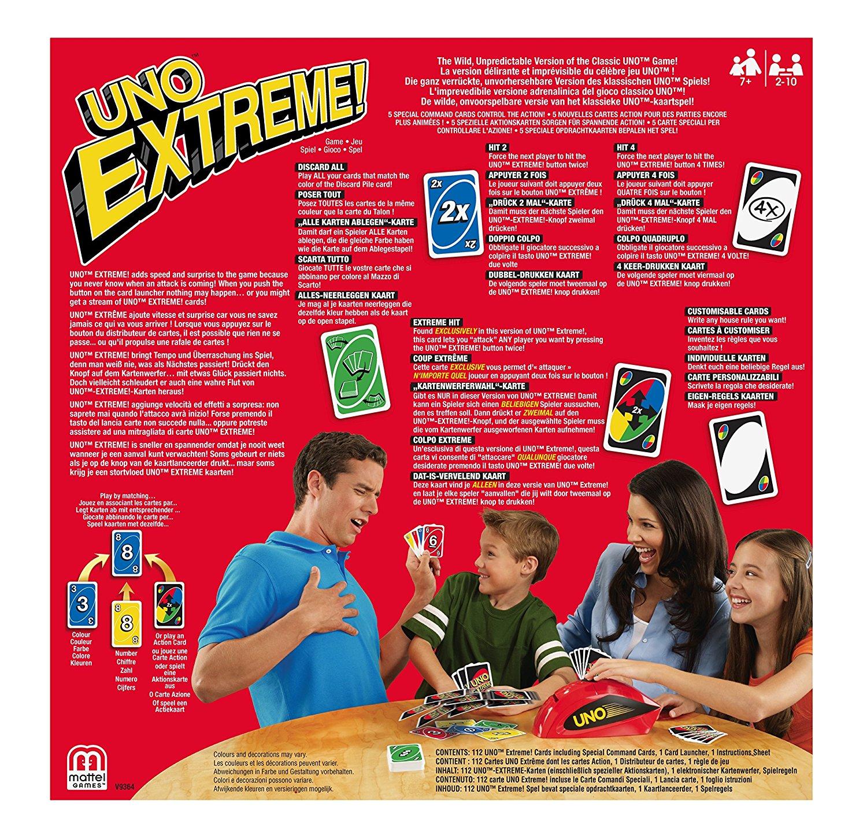 uno extreme carte