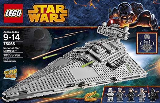 vaisseau imperial lego