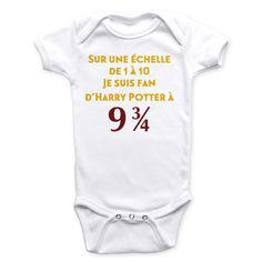 vêtement bébé harry potter