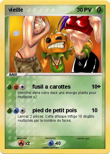 vieille carte pokemon