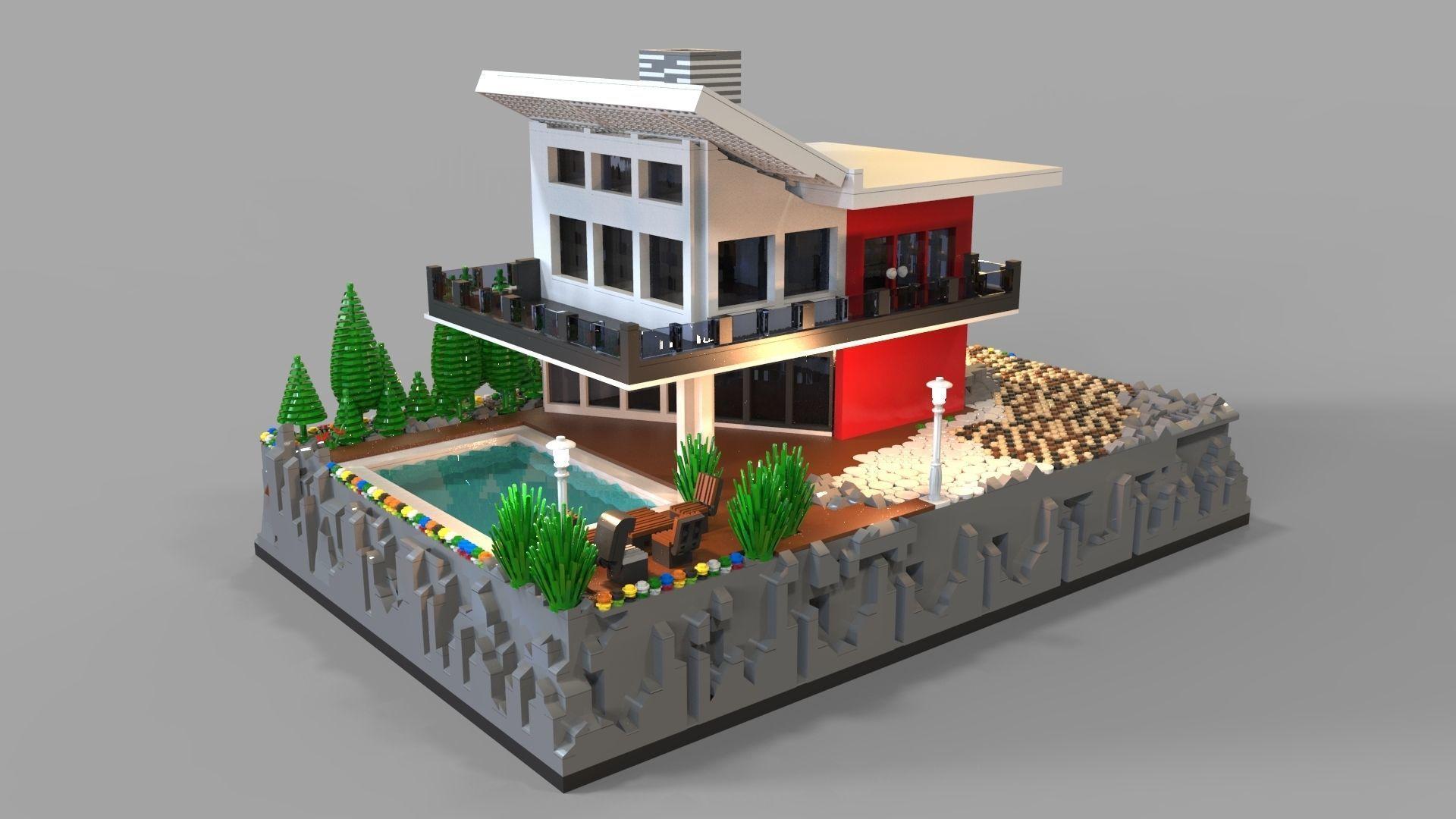 villa lego