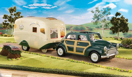 voiture caravane sylvanian