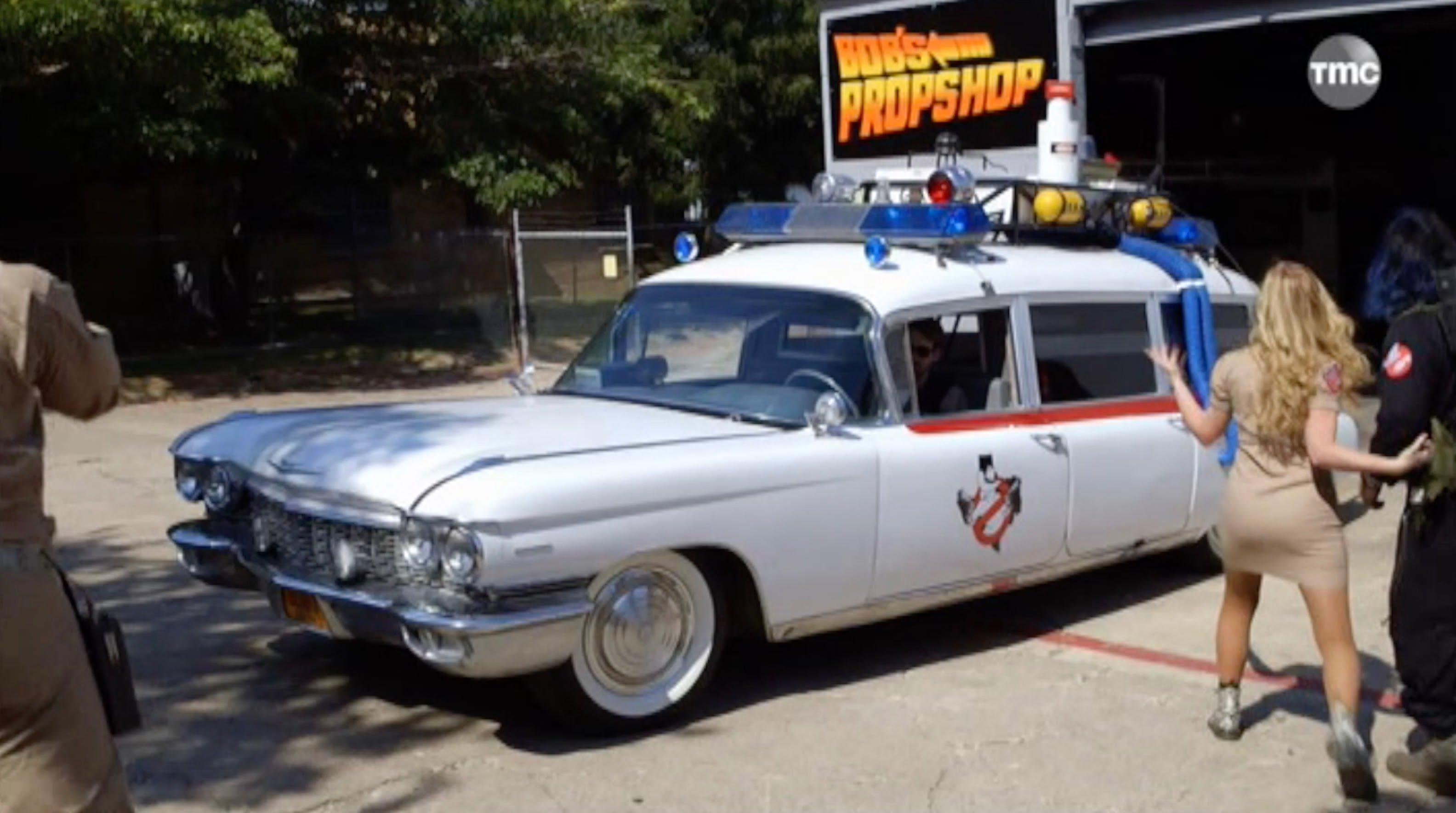 voiture de ghostbuster