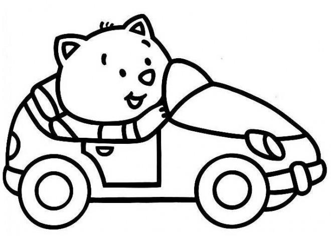 voiture dessin enfant